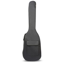 Chinese  Black Waterproof Double Straps Bass Backpack Gig Bag Case for Electric Bass Guitar 5mm Thickness Sponge Padded manufacturers