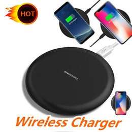 5v qi wireless charger note Australia - 2019 New 9V 1.67A 5V 2A Fast Quick Qi Charger wireless charging For Samsung S10 S7 Edge S8 Plus Note Iphone 8 X
