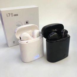 $enCountryForm.capitalKeyWord Australia - HBQ I7S TWS Headphone Twins Earphone Stereo for iPhone i7 Android Samsung Apple 4.2 Bluetooth Wireless Headset with Mic Charging Box 0005