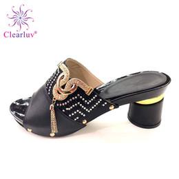$enCountryForm.capitalKeyWord Australia - New Fashion Designer Shoes Women Luxury 2019 Nigerian Women Wedding Slipper Luxury Sandals Women African Party Pumps Low Heels