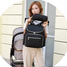 $enCountryForm.capitalKeyWord Australia - 1Multifunction Large Baby Diaper Backpack Usb Port Changing Pad Sleeve Outdoor Storage Backpackbag Bottle Bag