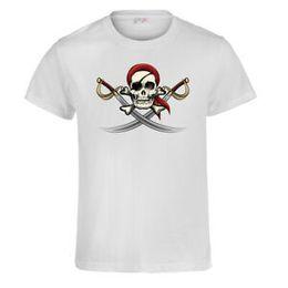 $enCountryForm.capitalKeyWord NZ - Gothic Pirate Punk T-shirt Men's Women's Short Sleeve Crew NeBrand Summer Tops Tee