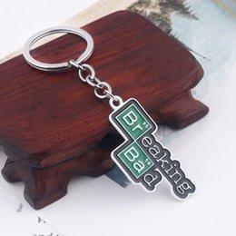 Broken Bad Australia - TV Breaking Bad Keychain Letter Logo Key Chain for Women Men Car Keyring Chaveiro Jewelry Christmas Gift