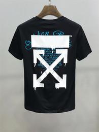 Toptan satış Avrupa moda lüks erkek ve kadın boyutu m-XXXL # 63 için erkek giyim tasarımcısı tişörtler yaz tişört hip hop moda kısa kollu tişört