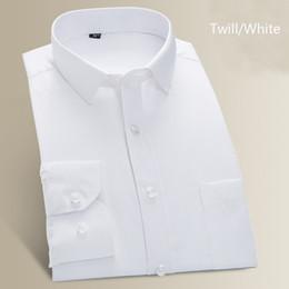 $enCountryForm.capitalKeyWord Australia - Spring&Autumn Men's Business Dress Shirts Plus Size Male Formal Button-Down Collar Shirt Fashion Style Men's Casual Dress Shirt
