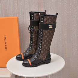 Chain boot straps online shopping - Ting2594 Fashion Old Flower Fabric Straps Long Boots Riding Rain Boot Boots Booties Sneakers Dress Shoes