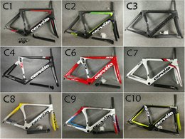 Bikes 51 online shopping - T1000 UD Glossy Matte Cervelo S5 carbon road frames Bicycle Frameset with cm colors for selection