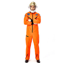 space suits costumes NZ - Christmas Carnival halloween costumes for men adult Masquerade Party Fancy Cosplay astronaut spacesuit space suit costume