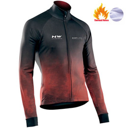 Discount moutain bikes - NW 2019 Cycling Jersey Winter Thermal Fleece Bicycle Cycling Jersey Jacket Warm Winter Moutain Bike Clothing Northwave