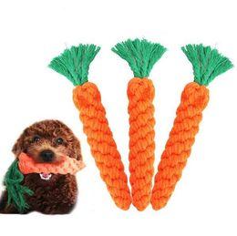 $enCountryForm.capitalKeyWord Australia - XU0318 HoT C 2019 Pet Dog Products Teddy Dog Toys Carrots Puppy Teeth Bite Resistant knots Toys Pet supplies Bite Chew Dog Toy Bite Toys