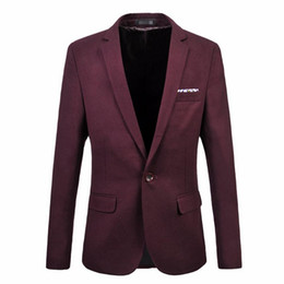 $enCountryForm.capitalKeyWord NZ - Men's suit jacket new trend of formal occasions a grain of buckle blazer high quality custom leisure business suit jacket