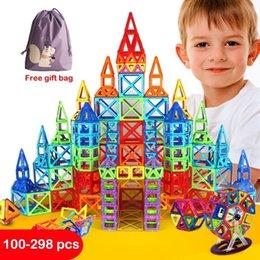 Game maGnets online shopping - Mini Magnetic Blocks Building Construction Toys Magnetic Designer for Children Magnet Games Educational toy For Kids Gifts SH190913