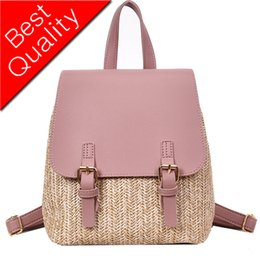 $enCountryForm.capitalKeyWord Australia - Kawaii Mini School Backpack Female Weaving Backpack Fashion Contrast Color Rucasack School Bags For Teenage Girls Mochila Women