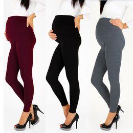 Leggings Pregnant Australia - Women's Pregnant Warm Leggings Maternity Stretchy Slim Skinny Leggings Pregnancy Pants Fashion High Quality Women Pants