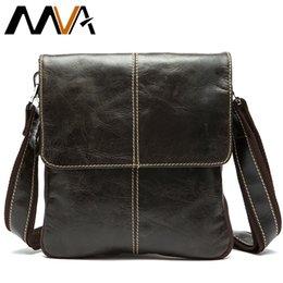 $enCountryForm.capitalKeyWord Australia - Mva Messenger Bag Men's Genuine Leather Shoulder Bag For Men Leather Man Fashion Small Flap Male Crossbody Bags Handbags 8006 MX190817