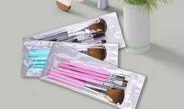 Drop Hot 5pcs Travel Portable Mini Eye Makeup Brushes Set for Eyeshadow Eyeliner Eyebrow Lip brues Make Up Brushes kit Professional tools on Sale