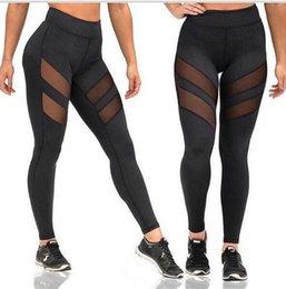 $enCountryForm.capitalKeyWord Australia - Womens Printed Beauty Yoga Gym Leggings Pants Leggings Women Mesh Splice Fitness Slim Black Legging Active Wear Women Clothing New Leggins