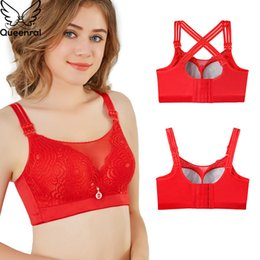 7afc3f88102 Plus size front closure bras online shopping - Queenral Plus Size Push Up  Bras For Women