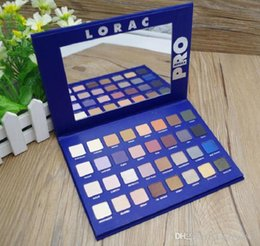 makeup lorac Australia - LORAC Pro 2 Eye Shadow Blue Palette 32 Colors Eyes Makeup Eyeshadow Palette DHL free shipping