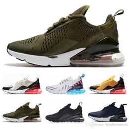 Venta al por mayor de nike air max 270 270s 27c airmax Runningman Presto Shoes Casual Trainers casual blanco negro deportes exterior correr zapato para hombre para mujer zapatillas deportivas zapatos