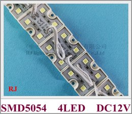 Frees 35mm Canada - New arrival high bright LED light module SMD 5054 LED module waterproof DC12V 4 led 1.6W IP66 35mm*35mm CE ROHS free shipping