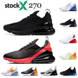 X photos online shopping - Stock X Running shoes mens womens triple black white Oreo Bred Photo Blue University Red Photo Blue sports sneakers trainers