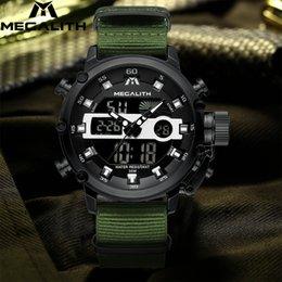 Mens Fashion Luxury Sport Watch Australia - MEGALITH 2019 Men Watch Luminous Waterproof Quartz Watches Mens Top Brand Fashion Luxury Sport Digital Watch Relogio Masculino