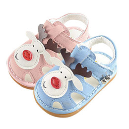 $enCountryForm.capitalKeyWord Australia - Baby Sandals for Girls Sneakers Cute Infant Lovely Sandals Cartoon Cattle Soft Bottom Non-slip Princess Shoes Girl Kids Shoes