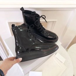 white stiletto snow boots NZ - New top designer Boots Fashionable black leather 100% sewed thermal leather shoes autumn and winter shopping walking boots free freight 5-10
