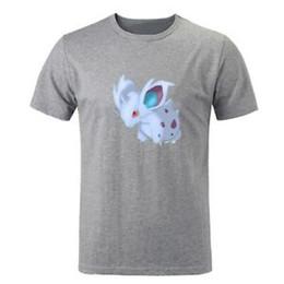 aa28c15ce Summer go Pikachu Nidoran Design Mens Boys Print T-Shirt Graphic Tee Shirts  Top