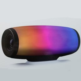 Pulse Speakers Australia - Z11 portable wireless Bluetooth speaker subwoofer colorful lights LED lights pulse card audio dual speakers high power speaker