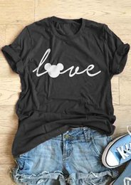Tee squares online shopping - Love Mouse Short Sleeve T Shirt Women Funny Graphic tees Fashion Clothes tees Basic cool tops t shirt