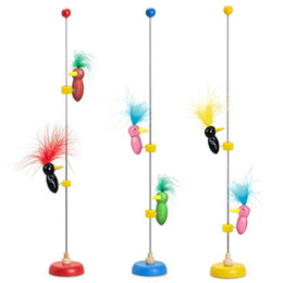 $enCountryForm.capitalKeyWord Australia - Fashion Cute Wooden Bird Sliding Toy Kids Puzzles Educational New Fashion Bird Sliding Toy
