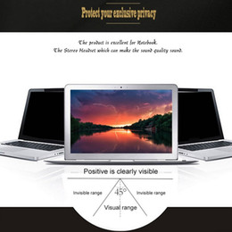 Discount 16 inches laptop - Onleny 8 10 11 12 16 17 inch Privacy Protective Film For 15 inch Widescreen(16:9) Laptop LCD Monitor Notebook Protective