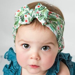 $enCountryForm.capitalKeyWord Australia - Hot sale fruits bows baby headbands nylon newborn designer headband soft designer headbands baby accessories kids headband A6469