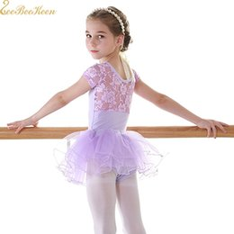 $enCountryForm.capitalKeyWord Australia - Pink Purple Gymnastics Leotard Swan Lake Lace Tutu Ballet Dress Ballerina Leotard For Girl Ballet tutu Dance Dress For Child