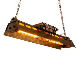 Store energy online shopping - Retro Iron Antique Pendant Light Loft Creative Suspension Pendant Lamp Cafe Bar Clothing Store Restaurant Decor lighting AL066