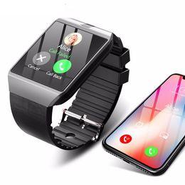 Smartwatch Bluetooth Smart Watch For Samsung Australia - Bluetooth Smart Watch Smartwatch DZ09 Android Phone Call Relogio 2G GSM SIM TF Card Camera for iPhone Samsung HUAWEI PK GT08 A1