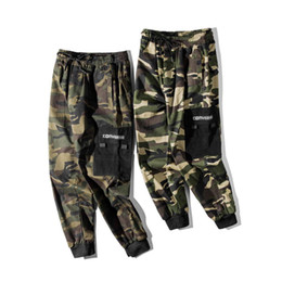 $enCountryForm.capitalKeyWord Australia - The latest spot camouflage overalls classic fashion men's designer army green pants outdoor jungle essential products now buy discount 20%
