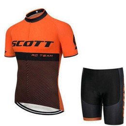 $enCountryForm.capitalKeyWord UK - scott 2019 new outdoor Breathable Cycling Jersey Shorts Set Mountain Bike Clothing MTB Bicycle Clothes Wear Ropa Ciclismo Hombre