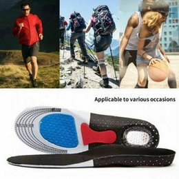 sponges for feet Australia - Care Sole Cuttable Hot Shoe Insoles Full Length Arch Support Orthotics for Plantar Fasciitis Foot Confort Heel Pain Relief Walk Run Hiking