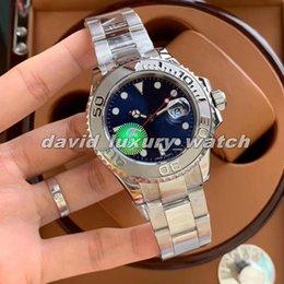 Vente en gros Designer Sapphire 316 résistant aux rayures Mouvement automatique Luxe Montre Homme 116621 mécanique en acier inoxydable Bracelet 40 mm Cadran étanche
