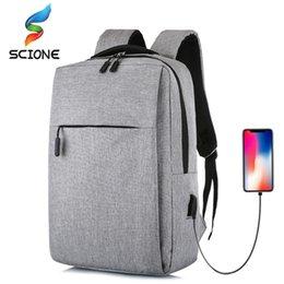 Train Usb Australia - Hot Multifunction USB Charging Men Business Leisure School Crossbody Bag Outdoor Training for Teenagers Travel Shoulder Bag #924836