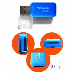 $enCountryForm.capitalKeyWord Australia - High Quality Mini USB 2.0 Card Reader for Micro SD Card TF Card Adapter Plug and Play Colourful Choose from for Tablet PC lp14