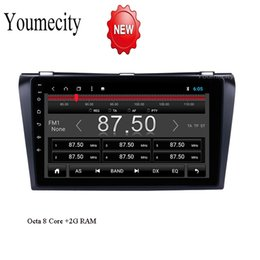 Discount mazda dvd android - Octa 8 Core Car DVD Player for Mazda 3 2006 2007 2008 9 inch Android 8.1 2G RAM 32G ROM Radio GPS Navigation BT WIFI Map