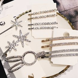 $enCountryForm.capitalKeyWord Australia - Shiny Crystal Rhinestones Hairpins Barrettes Snowflake Rabbit Shape Hair Clips Hairstyle Design Styling Tool Hair Accessories