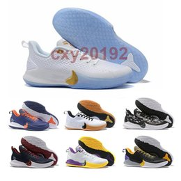 basketball shoes men kb UK - 2020 KB Mamba Focus EP Basketball Shoes High Quality Black White Athletic Sports Trainers Mens Designer Sneakers Size 40-46