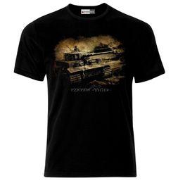 $enCountryForm.capitalKeyWord Australia - 2018 Short Sleeve Cotton Man Clothing Tiger Tank German Army Panzer WW2 Wehrmacht T-Shirt Fashion Classic