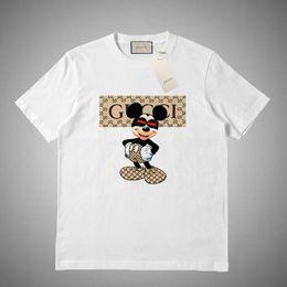 GUCCI 2019 camiseta para hombre de Hip Hop letra impresa camiseta de manga corta casuales Streetwear verano camisetas de algodón remata tes en venta