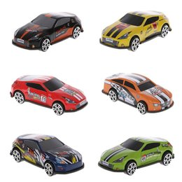 diecast model race cars 2019 - 6PCS 1:72 Model Racing Car Metal Toy Car Diecast Simulation Vehicles Toys For Kids Gift Boy Toys cheap diecast model rac
